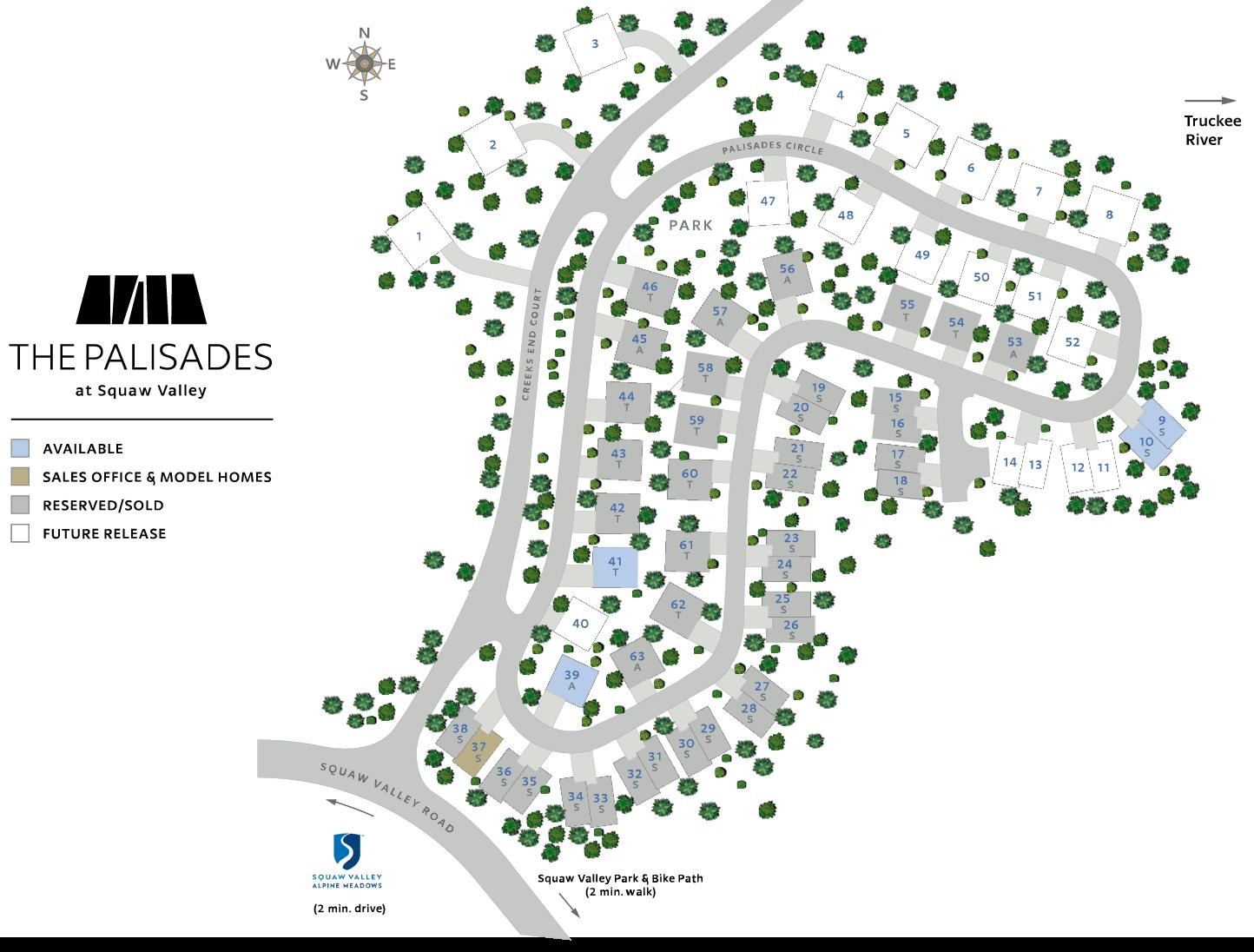 Palisades Site Plan